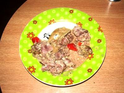 Куриные желудки в тиховарке