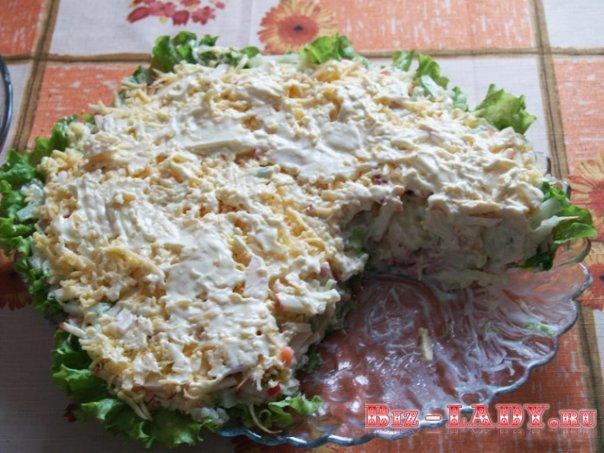 Салаты с горбушей копченой рецепты с фото