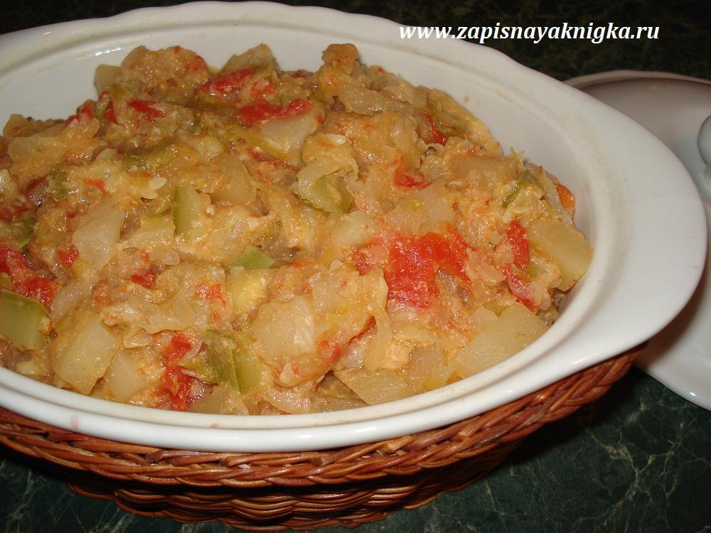 что приготовить из фарша картошки и капусты