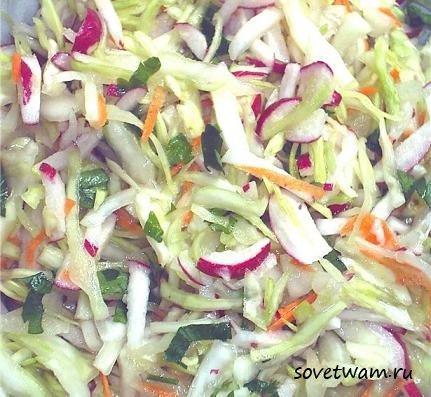 замороженная цветная капуста рецепт салата