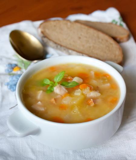 гороховый суп с ветчиной рецепты