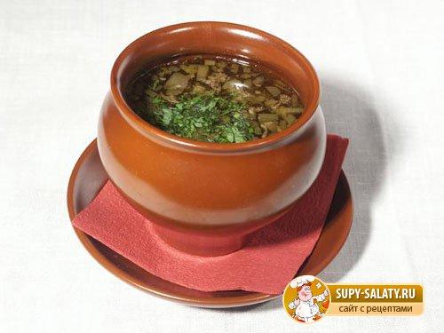 Куриный суп с перловой крупой
