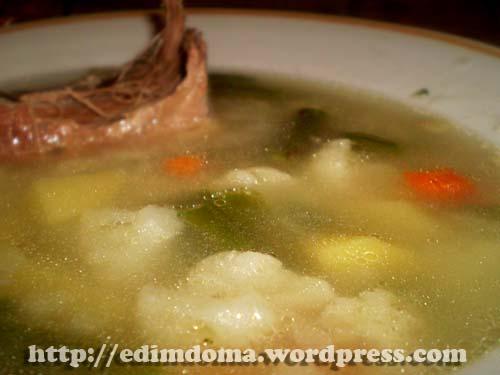 рецепты супа с сушеными грибами