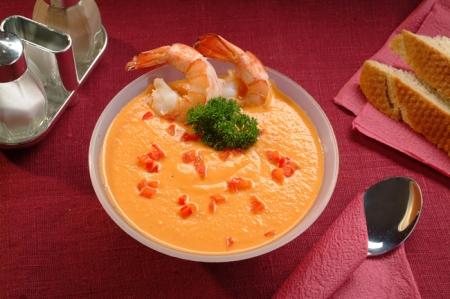 крем суп из морепродуктов рецепт