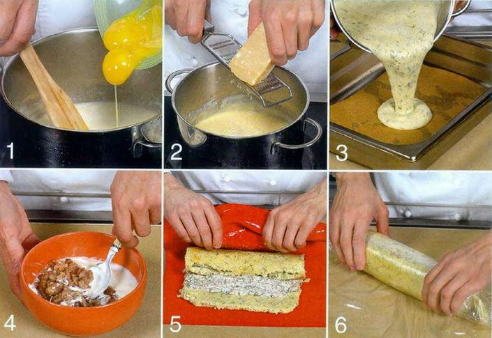 Как сделать начинку для торта из яиц