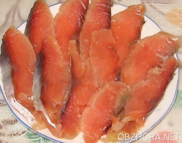 Рецепт соление красной рыбы и их фото