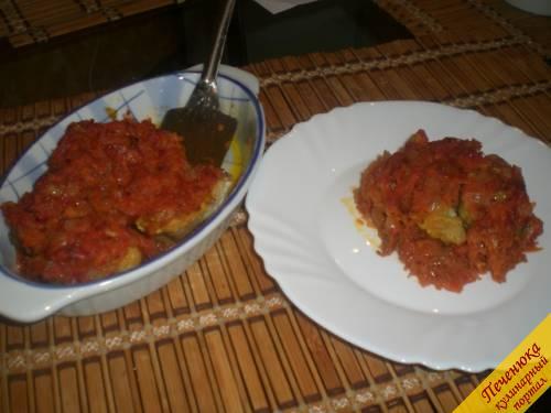 Минтай в духовке рецепты с фото пошагово