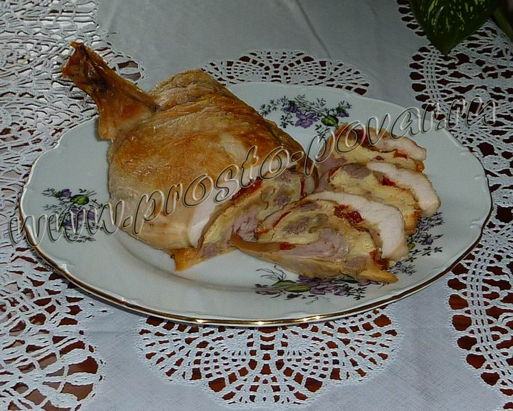 Курица по-царски