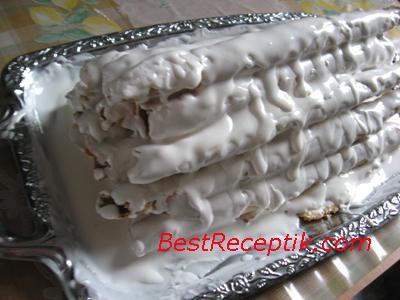Торт 'Зимняя вишня'