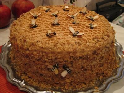 крем пчелка Торт  Пчелка  - подробный рецепт с пошаговыми фото.
