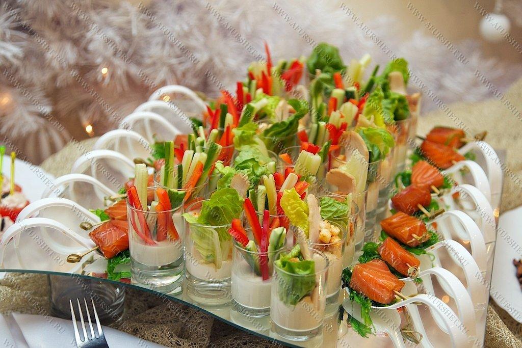 Блюда на фуршетный стол рецепты с фото