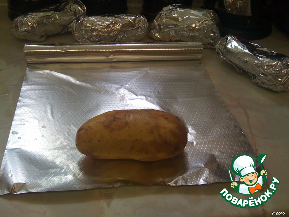 'Картошка в жакете' (Jacket potato)