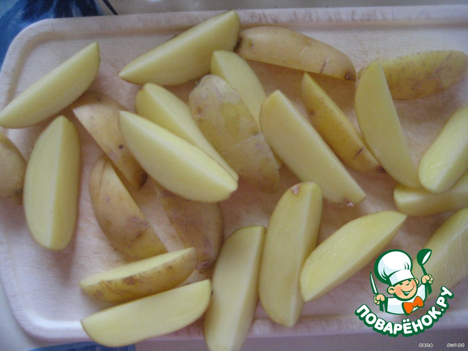 Картофель 'a la paysanne' - по деревенски