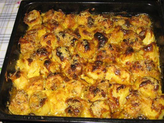 рецепты с картошкой в духовке со сметаной