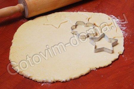 Печенье с формочками рецепты с фото