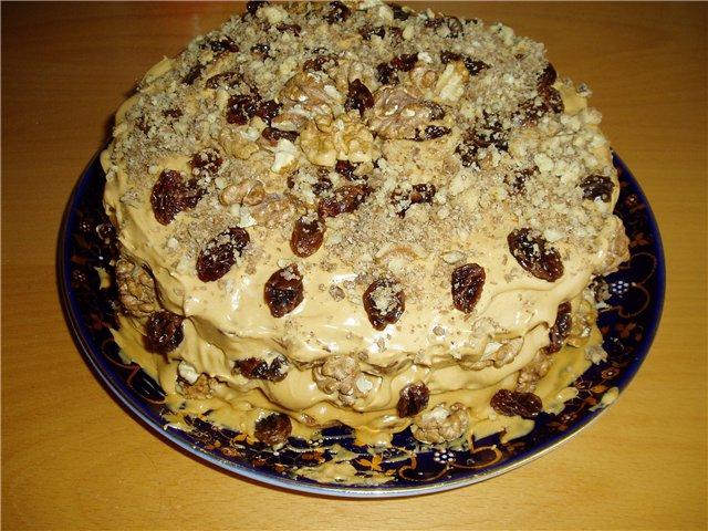 Торт генеральский рецепт с фото пошагово в домашних условиях