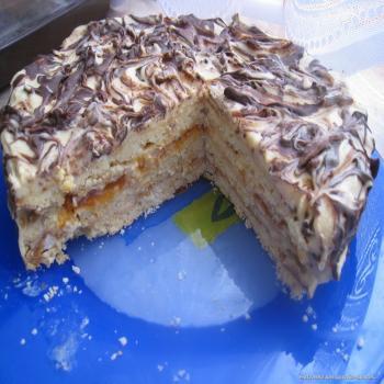 Торт сникерс от едим дома