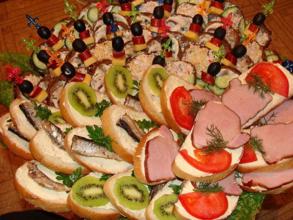 бутерброды на день рождения рецепты с фото тарталетки