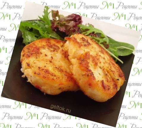 Рыбные котлеты из семги рецепт пошагово