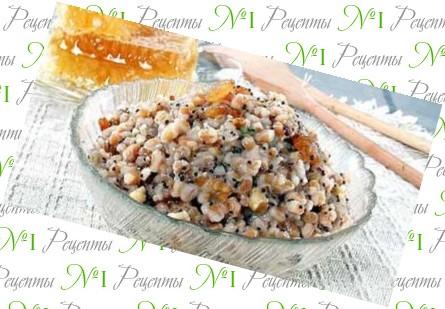 Рецепт кутьи из риса с изюмом 153