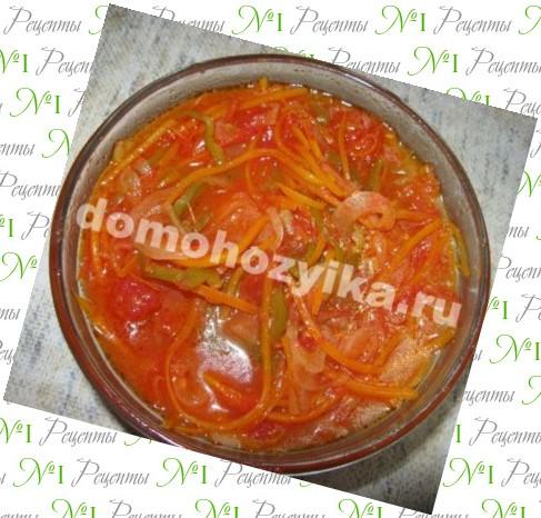 рецепты салатов с помидорами красными на зиму
