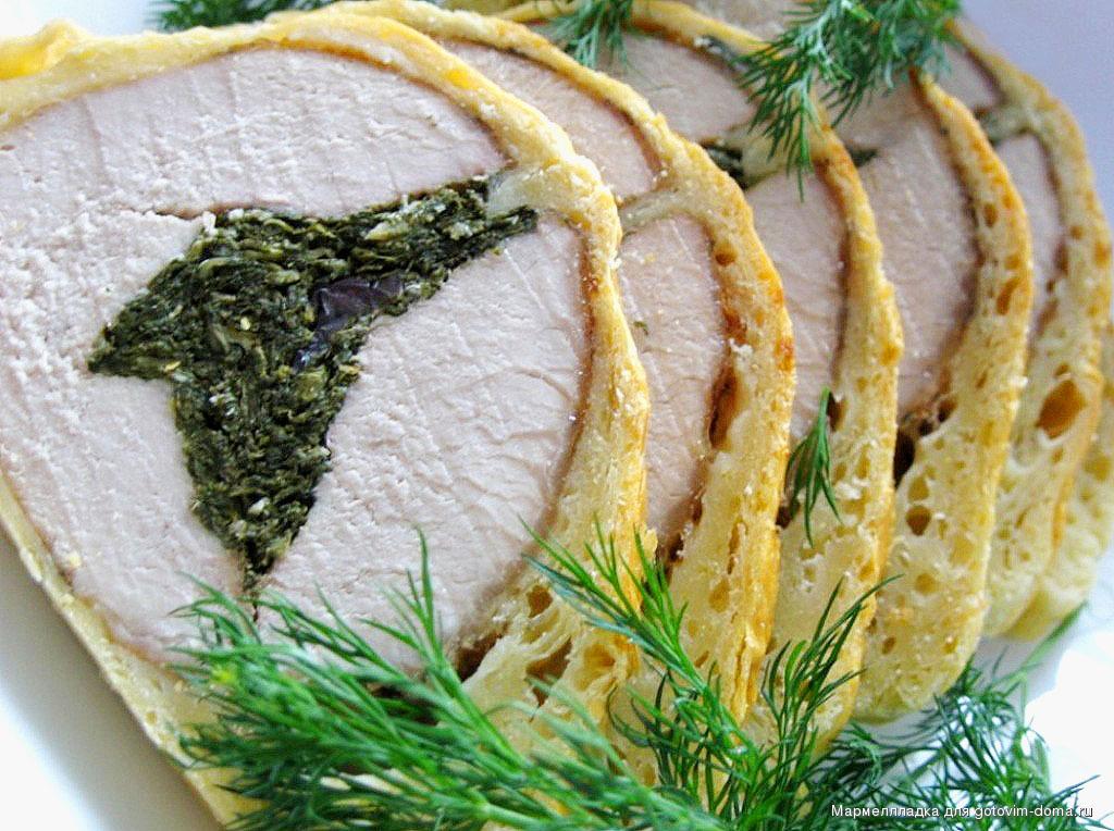 Блюда из свинины карбонат рецепты