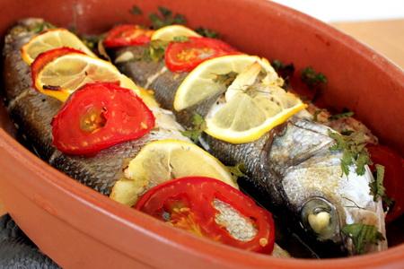 пожарить рыбу в духовке рецепты с фото