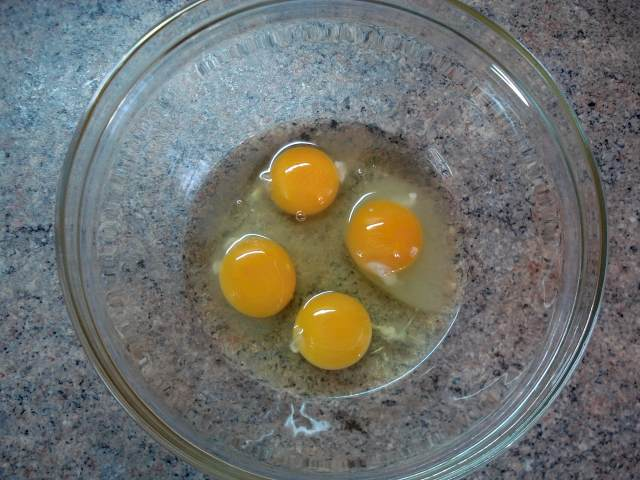 Как сделать яичный омлет 150