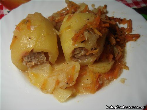 Фарш в картошке рецепт