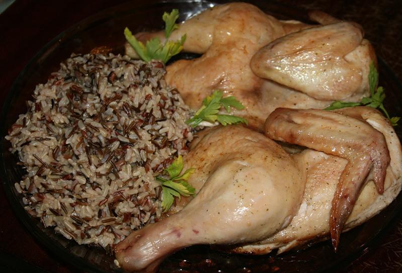 курица целая в духовке пошаговый рецепт