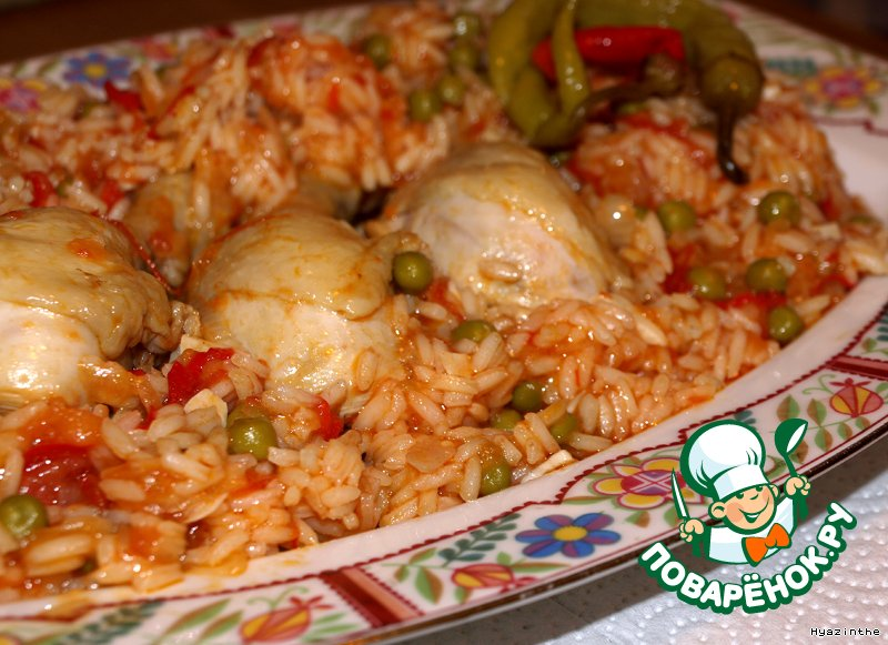 курица со сметаной и рисом в мультиварке рецепты