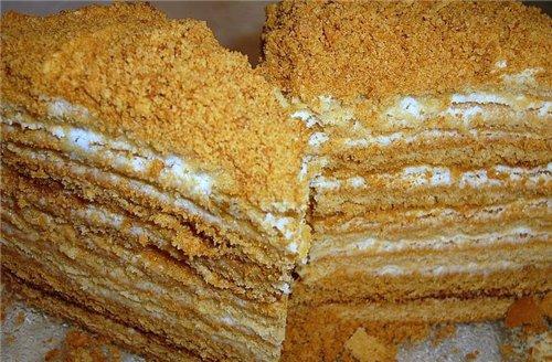 торт на сковороде с молоком рецепт с фото