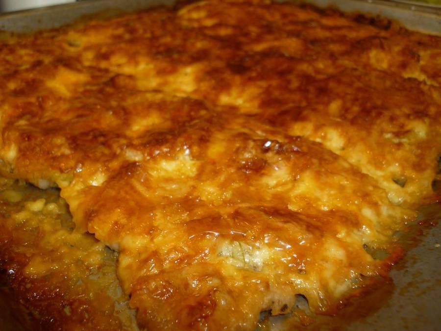 рецепт толченой картошки с фаршем в духовке