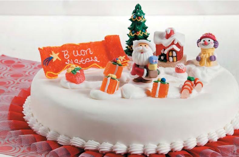 украшение новогодних тортов фото 2013 из крема санкт