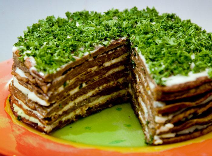 Как сделать печеночный торт рецепт с фото