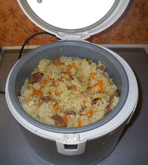 Как приготовить черный рис гарнир