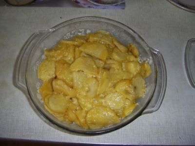 картофель из микроволновки