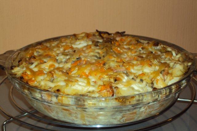 Рецепт салата из ананаса и копченой курицы