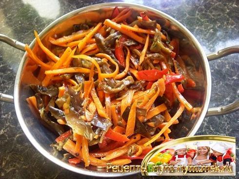 Рецепты хе по корейски пошагово с фото