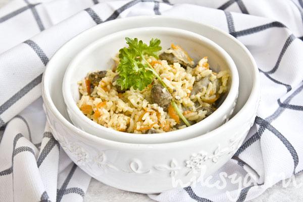 рецепты салатов с куриными желудками