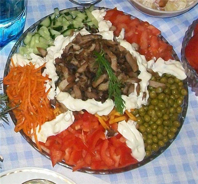 салат из картошки фри рецепты с фото