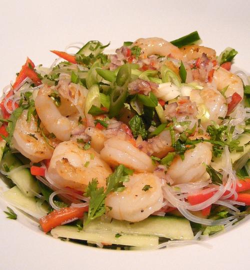 рецепты вкусных салатов без майонеза с креветками