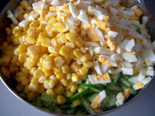 Салат из языка с кукурузой рецепты с фото