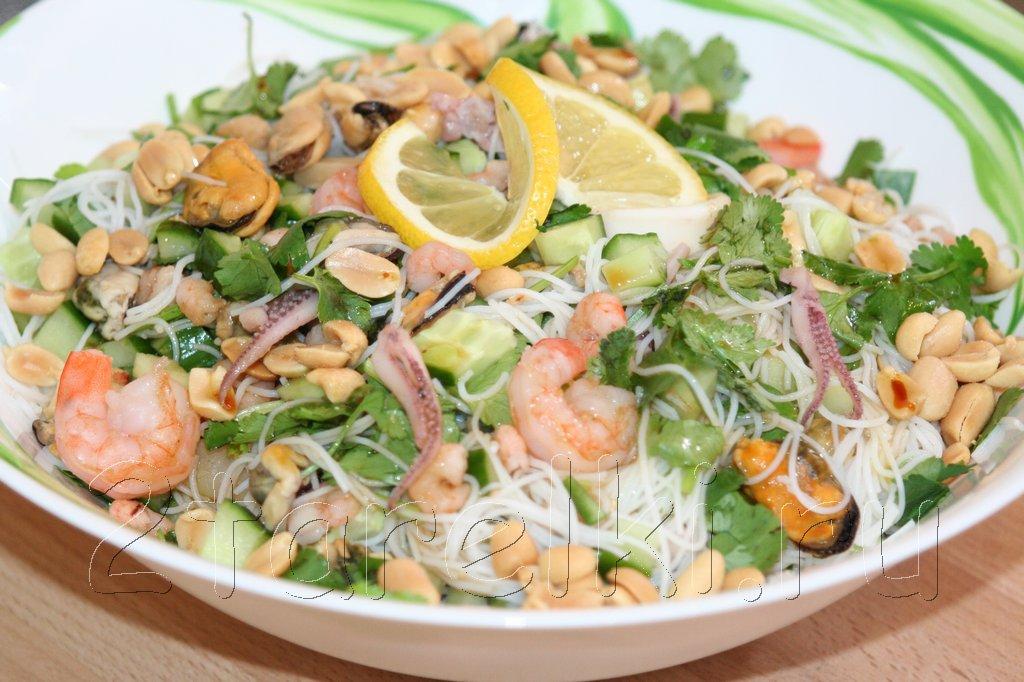 Блюда коктейля морепродуктов рецепты фото