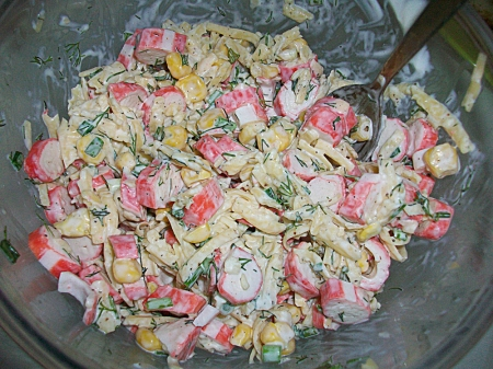 салаты простые рецепты фото