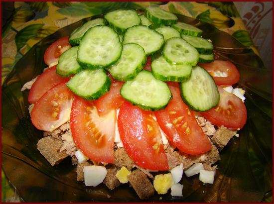 Рецепты на скорую руку салатов с фото