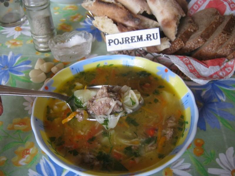 борщ из курицы и квашеной капустой рецепт с фото
