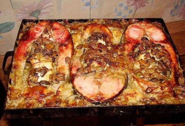 рецепты с рыбой толстолобик в духовке