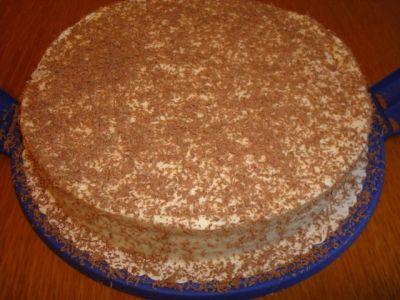 торт из коржей с маскарпоне рецепт