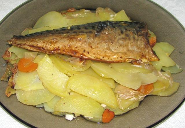 горбуша запеченная в духовке в фольге рецепт с картошкой с фото
